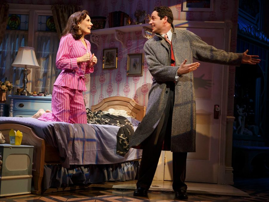PS  - She Loves Me - Laura Benanti and Zachary Levi - Joan Marcus - 3/16