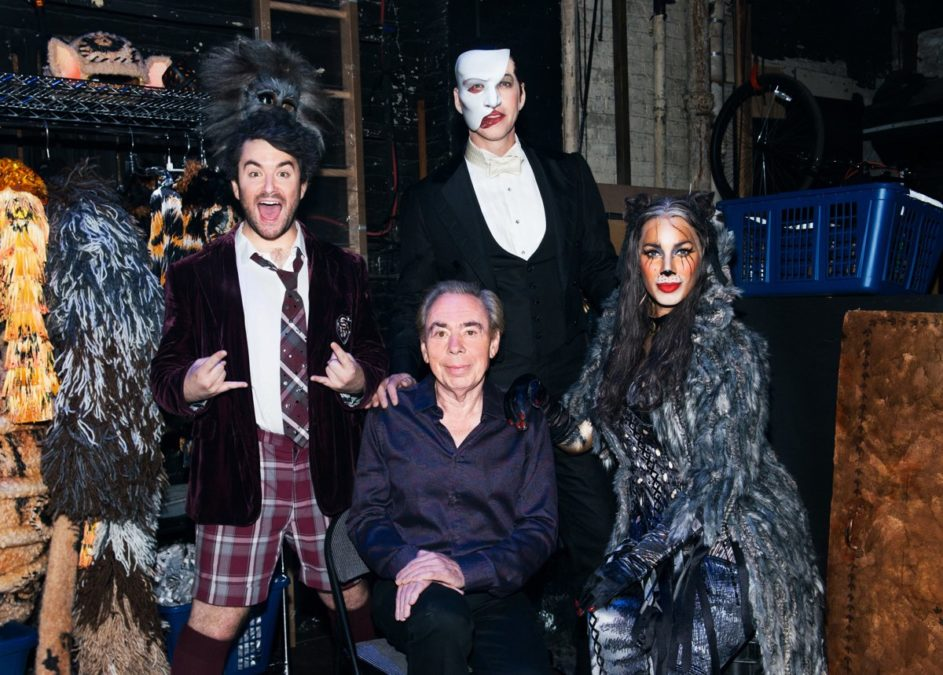 HS - Andrew Lloyd Webber - 7/16 - GETTY - Noam Galai/Getty Images