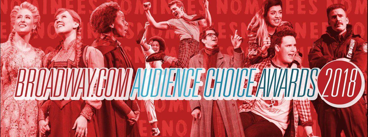 LI - BROADWAY.COM - Audience Choice Awards - NOMINEES - 5/18 -