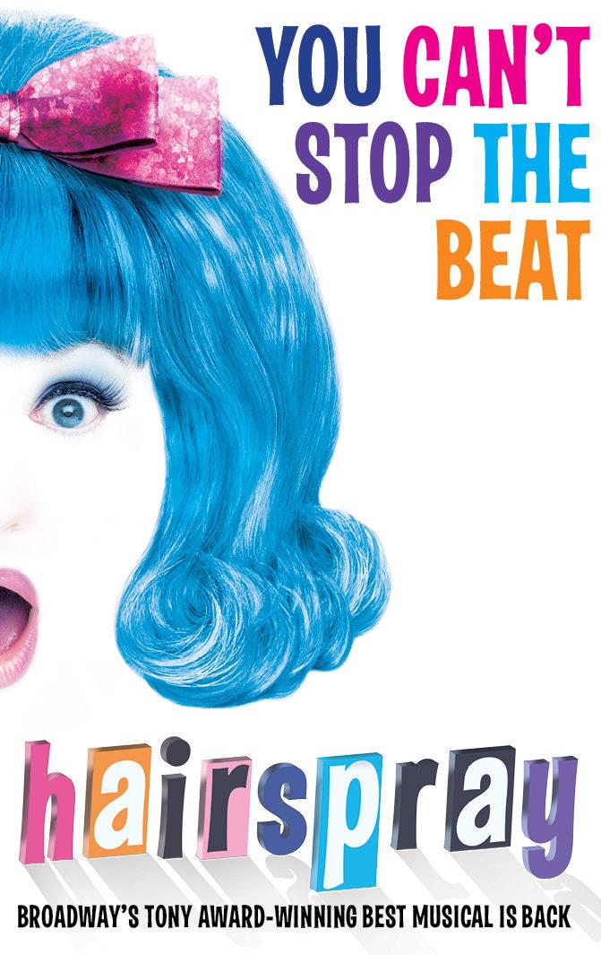 Hairspray key artwork