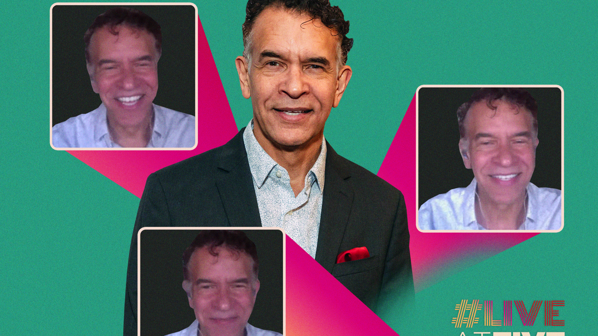 Live at Five Home Edition - Brian Stokes Mitchell - 5/20