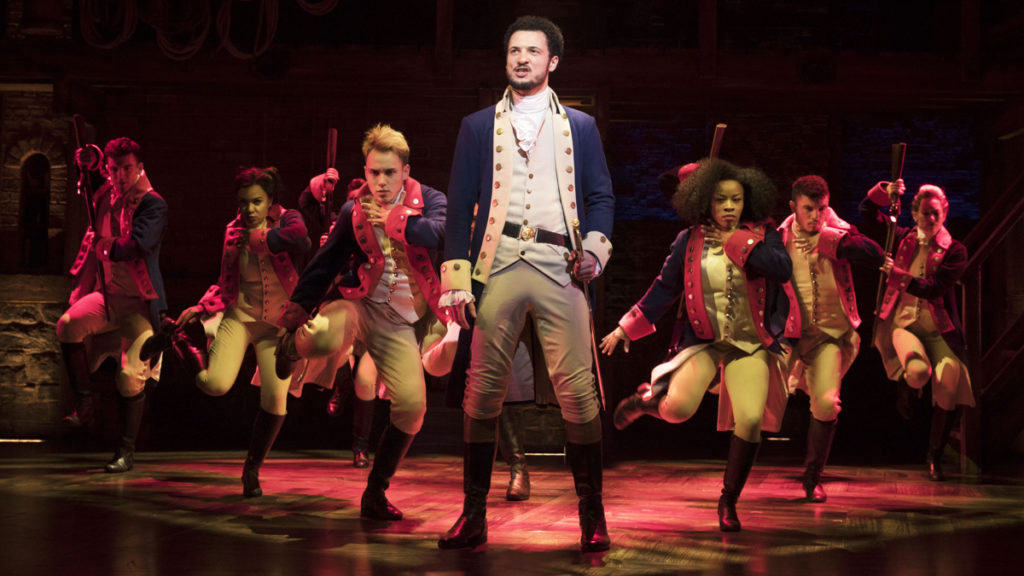 PS - Hamilton - West End - Jamael Westman (as Alexander Hamilton) - 2017 - Matthew Murphy