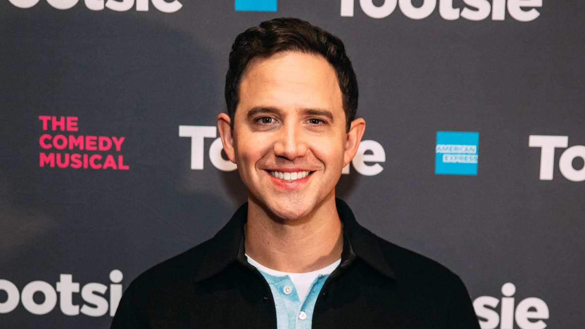 Santino Fontana - Tootsie Press Event - 3/19 - Emilio Madrid