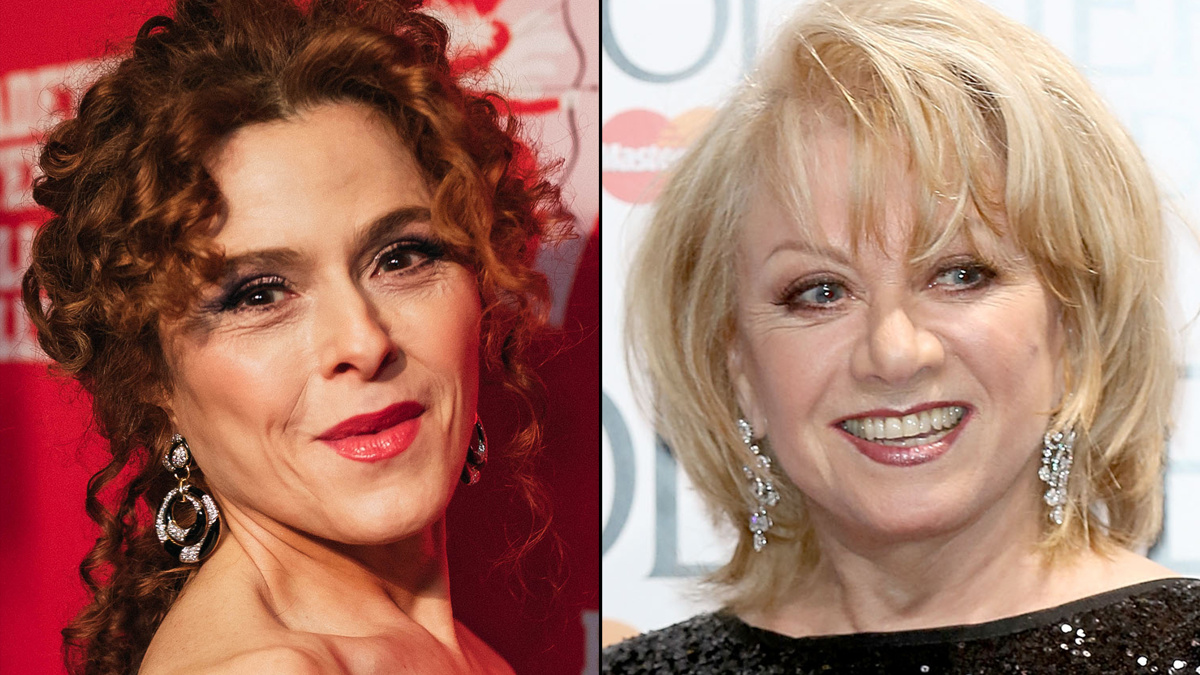 Bernadette Peters - Elaine Paige - 10/20 - Emilio Madrid - Tim P. Whitby/Getty Images