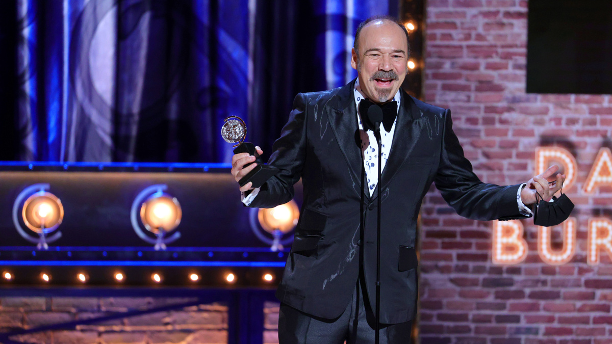 Danny Burstein - 9/21 - Theo Wargo/Getty Images for Tony Awards Productions